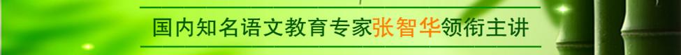 国内知名语文教育专家张智华老师领衔主讲